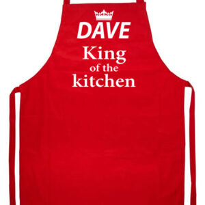 Novelty Adult Apron King of the kitchen