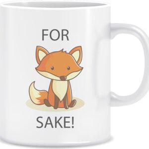 Novelty Mug For fox sake