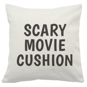 Novelty Cushion Cover Scary Movie