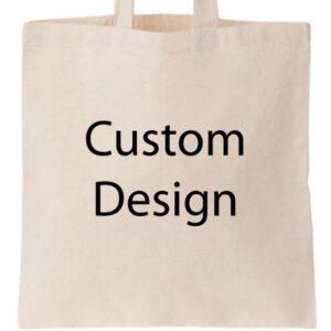 Novelty Tote Bag Custom Print