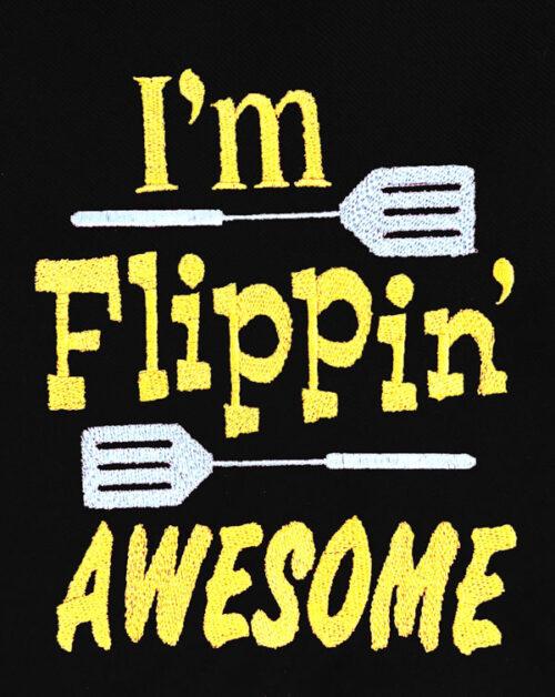 Apron Flippin Awesom