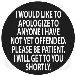 Novelty Fridge Magnets Anger and Attitude