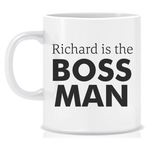 Novelty Workplace Mug Boss Man
