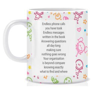 Novelty School Secretary Mug