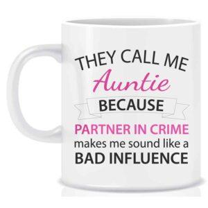 Novelty Mug They Call Me Auntie