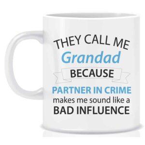 Novelty Mug They Call Me Grandad