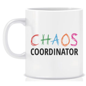 Novelty Workplace Mug Chaos Coordinator