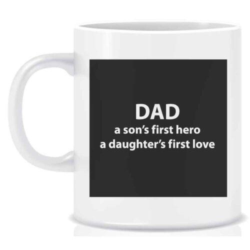 Dad Mug first hero