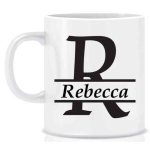 Name and Initial Mugs